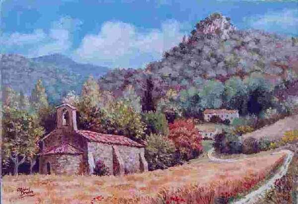 Peinture de : Michel Bendon
