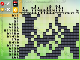 Darkrai Pokémon Picross