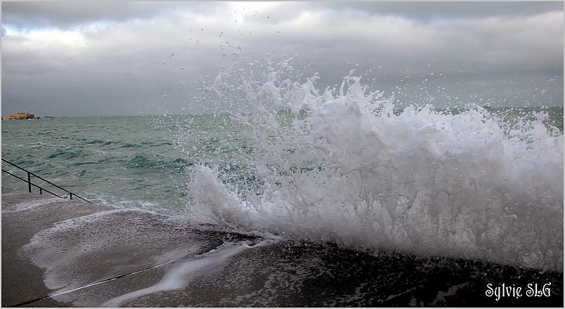 St Malo - Grandes marées mars 2015