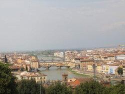 Vue Sur Ponte Vecchio