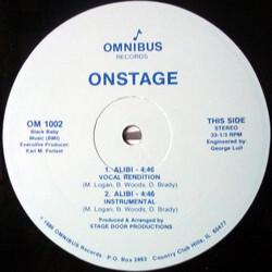 Onstage - Alibi