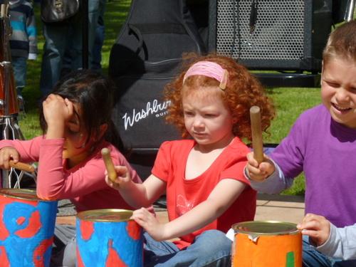 La fête de la musique de l'école !