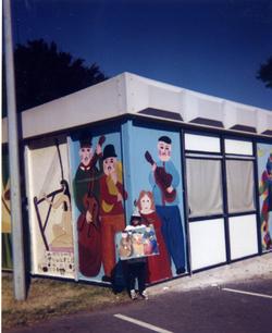1997 Peintures murales