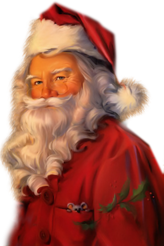 Tubes pères Noël 13