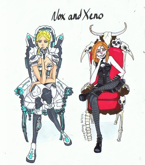 Noxy et Xeno futur maître du monde