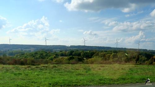 Parc éolien Rougemont - Baume-les-Dames