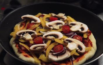 Pizza... à la poêle !