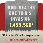 Just Foreign Policy Iraqi Death Estimator