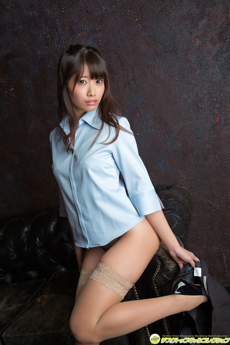 WEB Gravure : ( [DGC] - | 2016.02 | Anna Tamechika/為近あんな : バレエで鍛えられた自慢の美尻を見てね! )