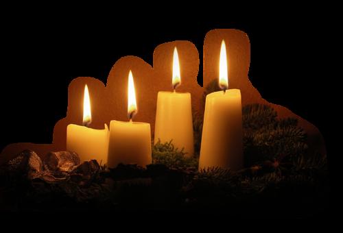 Bougies de Noël Série 2