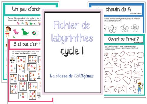Fichier de labyrinthes - Cycle 1