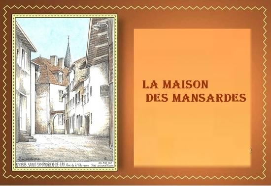 MAISON DES MANSARDES 18 JANVIER 2015