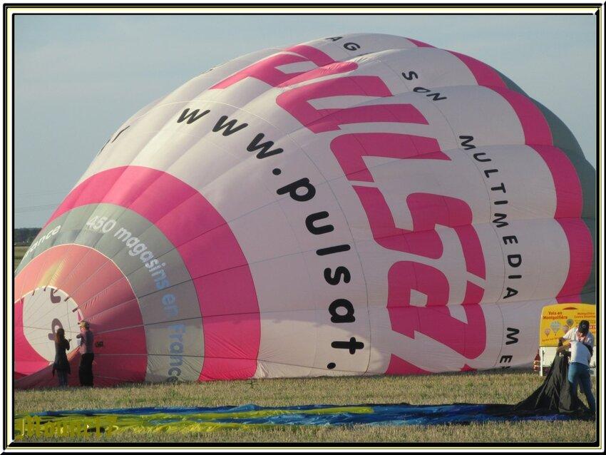 Les montgolfières à Semussac (près de Royan17)