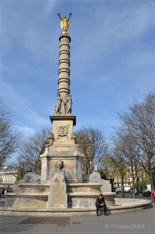 Fontaine du Palmier - (Paris 1er arrondissement)