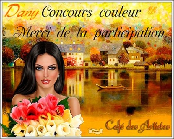 """Récompenses """" Le Café des Artistes"""""""