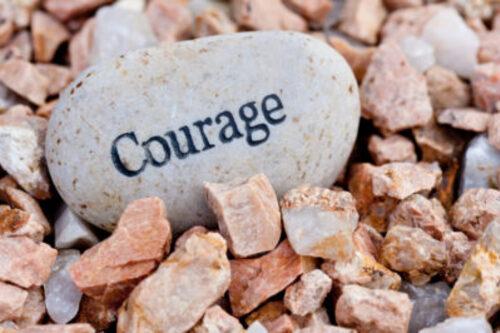 Agir avec courage