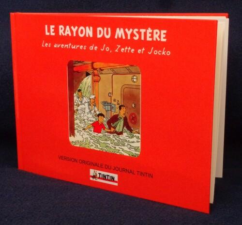 Le Rayon du mystère, version inédite journal Tintin