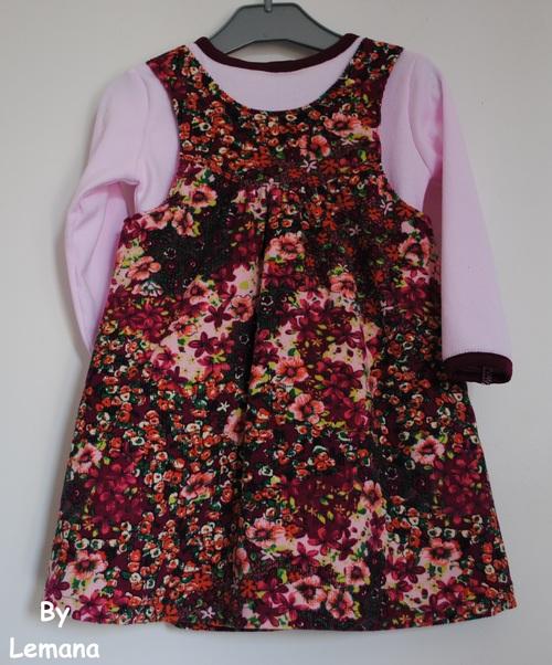 La robe qui cachait des champignons...