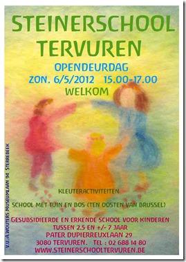 Portes ouvertes le 6 mai à l'école Steiner de Tervueren