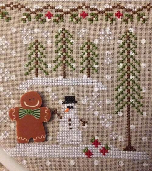gingerbread à jour