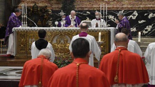 Pape François: prier et aimer pour rester vigilant et appeler Dieu