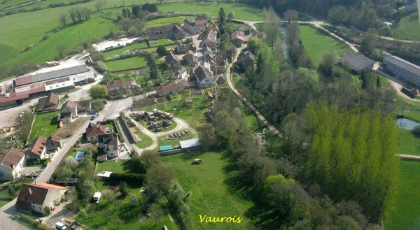 Le canton de Châtillon sur Seine , vu du ciel (seconde partie)