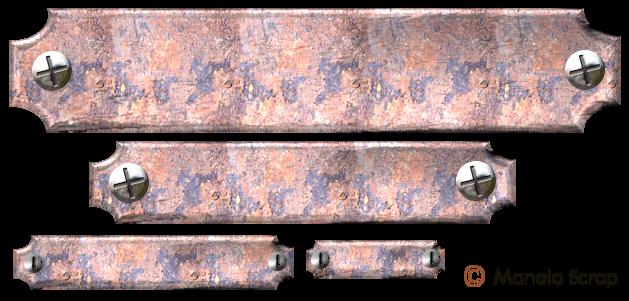 Plaques métallique page 1