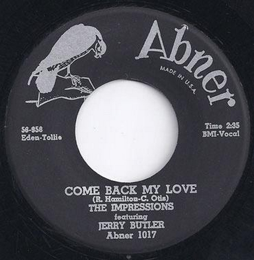 1958 : Single SP Abner Records 1017 [ US ]