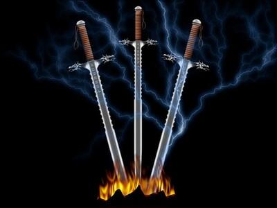 Les sept épées