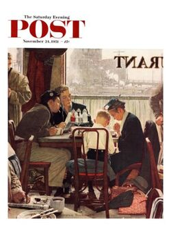 Norman Rockwell's paintings