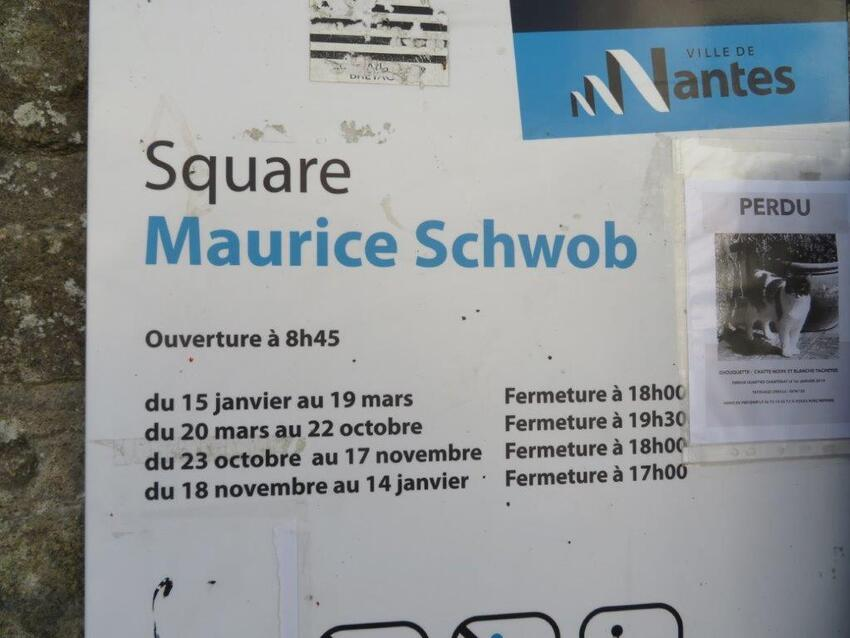 Le square Maurice Schwob