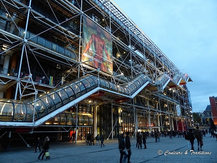 Architecture Beaubourg