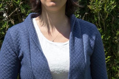 Couture - Mylène : Veste cannelle