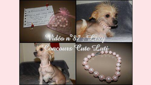 Lexy# Gagnante du Concours Cute Luti