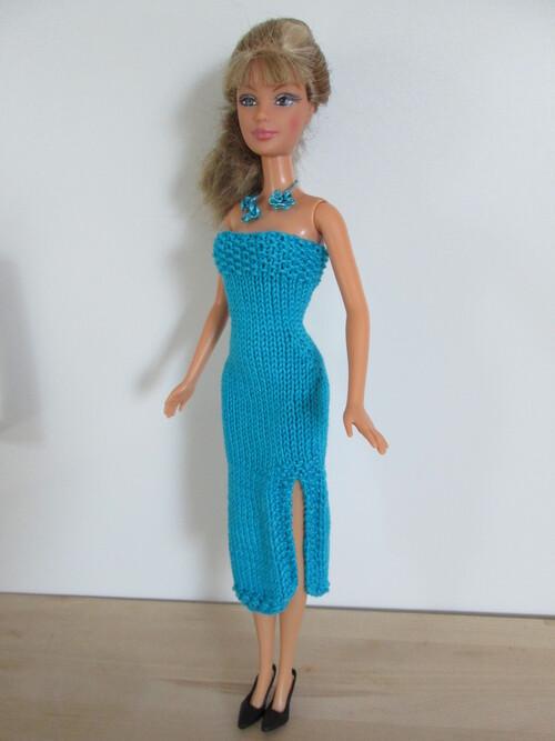 Robes mi longues pour barbie