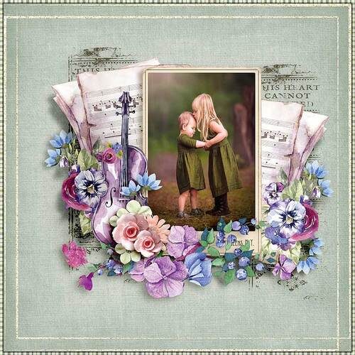 Perfect Harmony by dentelle scrap