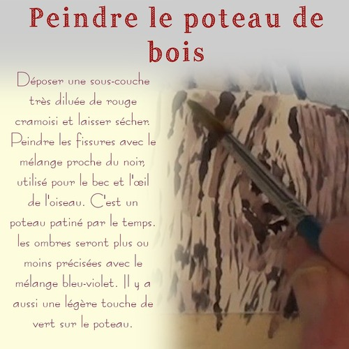 Dessin et peinture - vidéo 3589 : Comment peindre les hirondelles ? - aquarelle.