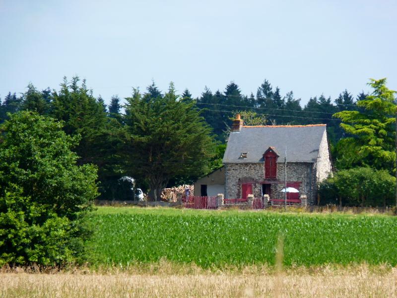 Promenade dans la campagne Bretonne