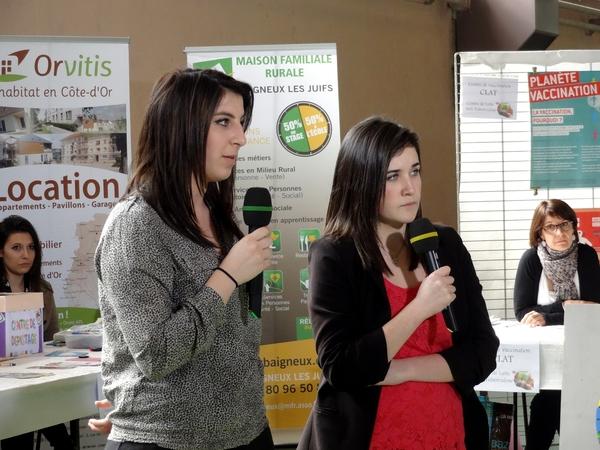Une émission de FR3 Bourgogne a été consacrée au Forum des Jeunes, organisé par la MJC Lucie Aubrac ...