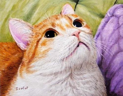 """Dimitri, Valentine et Minette, nos copains """"Les chatdappart"""""""