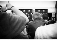 Antoine Cuypers (Préjudice) face aux photographes
