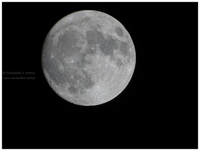 Pornic, Périgée de la lune 14 novembre 2016
