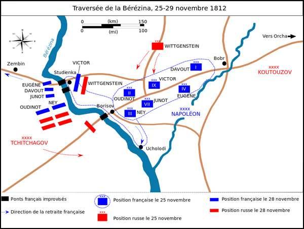 26 novembre 1812 : Bataille de la Bérézina