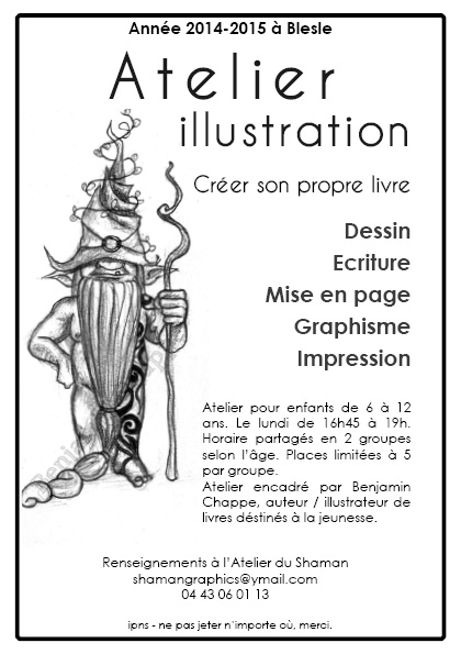 Atelier illustration pour enfants