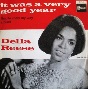 Della Reese - It Was a Very Good Year - 1966 -