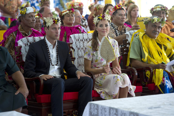Kate et William à Tuvalu (suite)