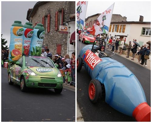 Tour de France Caravane publicitaire Lautrec
