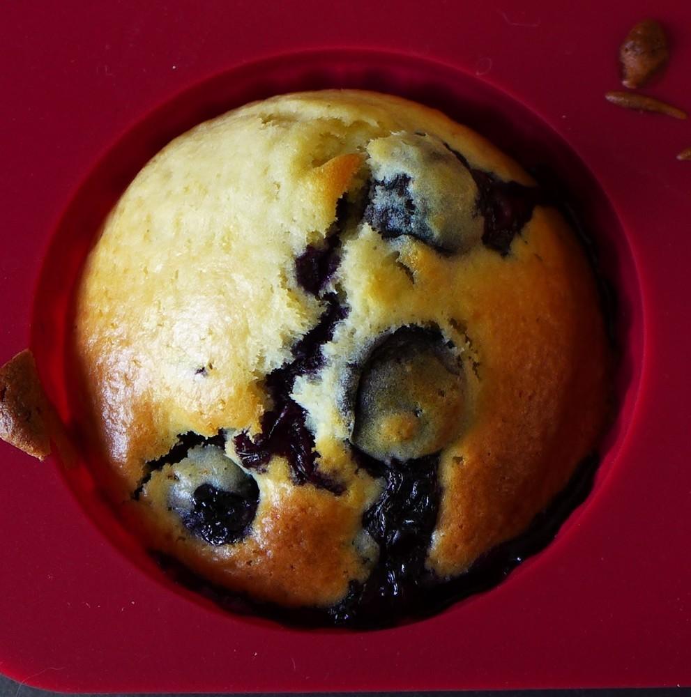 Muffins aux myrtilles...
