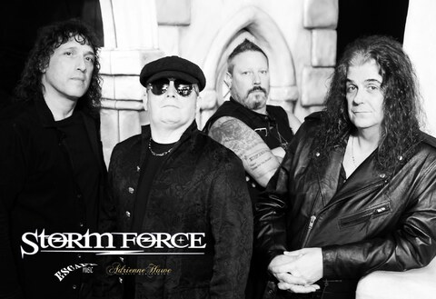 "STORM FORCE - ""Because Of You"" Lyric Video"