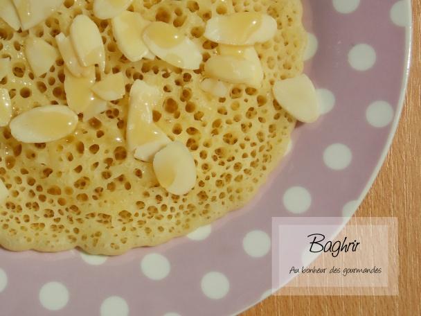 Baghrir, le pancake à l'orientale !